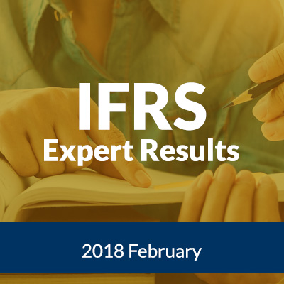 IFRS Expert Results  February 2018